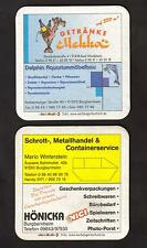 Werbe - BD - Bierdeckel - Beermat aus Burgbernheim,Bad Windsheim / Mittelfranken