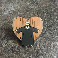"GAME OF THRONES HODOR ""HOLD THE DOOR"" LOVE ENAMEL PIN BADGE 