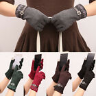 One Pair Fashion Ladies Touch Screen Magic Gloves For Smart Phone Winter Gloves