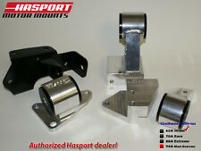 Hasport Mounts 84-87 Civic/CRX Swap Mount Kit w/ Cable Trans. for B-Series 62A