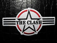 THE CLASH  AF  LOGO    EMBROIDERED PATCH IRON OR SEW