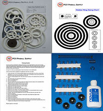 1952 Gottlieb Happy Days Pinball Machine Tune-up Kit - Includes Rubber Ring Kit