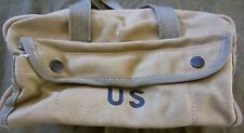 WWII US ARMY JEEP HALFTRACK TANK TANKERS TOOL CARRY BAG