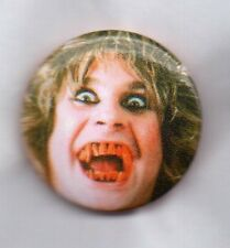 OZZY OSBOURNE PIN BADGE - BLACK SABBATH HEAVY METAL ROCK BAND