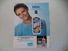 advertising Pubblicità 1984 BALENO NELSEN