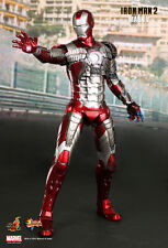 HOT TOYS 1/6 MARVEL IRON MAN 2 MMS145 MK5 MARK V MASTERPIECE ACTION FIGURE US
