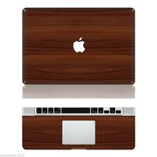 "Wood Vinyl Apple Macbook Pro Retina 13"" Sticker Decal Skin Cover For Laptop Mac"