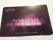 Avid ProTools 12 Annual 1 year. Subscription  Music Production Software  Card