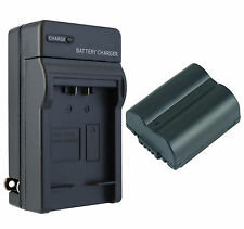 CGA-S006 Battery + Charger Set for Panasonic Lumix DMC-FZ35, FZ18, FZ30, FZ38