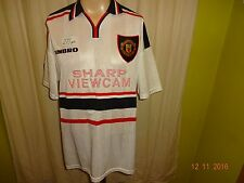 "Manchester United umbro Auswärts Trikot 1997-1999 ""SHARP VIEWCAM"" Gr.XL TOP"