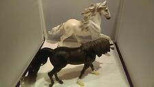 Breyer Traditional - Goffert & Arabian Mare - Smoke and Mirrors - VGC!