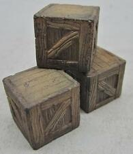 1/35 Scale Wooden Crates Large - 3 Pack
