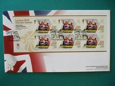 2012 LONDON 2012 OLYMPICS GOLD MEDAL WINNER FDC : TEAM GB WOMENS PAIRS ROWING