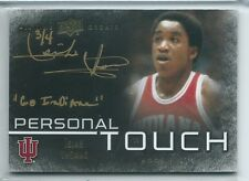 "2013 UD All-Time Greats Isiah Thomas Personal Touch ""Go Indiana"" AUTO 3/4 SP"