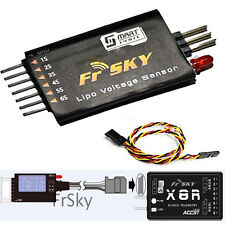 New upgade Sensor & Display  Frsky FLVSS Lipo Voltage For 2-Way Telemetry System