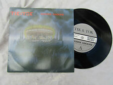 TIK & TOK HIGHER GROUND / DOWN FROM THE SKY survival 027........ 45rpm / rock