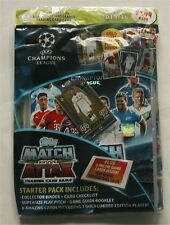 2016 Topps Match Attax Champions League Soccer Card Starter Kit w/RONALDO Ltd Ed