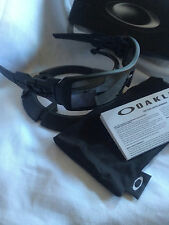 BRAND NEW OAKLEY OIL RIG MATTE Black Iridium SUNGLASSES 03-464 Same day shipping