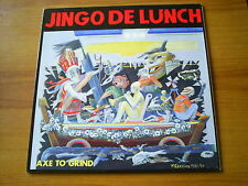 JINGO DE LUNCH Axe to grind GERMAN LP HELLHOUND 1989