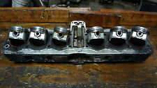 1979 HONDA CBX 1050 SIX 6 CYLINDER HM704 ENGINE TOP END CYLINDERS JUG W/ PISTONS