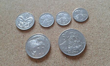 6 NEW ZEALAND COINS