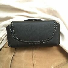 New Leather Black Belt Case for LG KE850 Prada KG800 KE970 Shine KC550 KG195