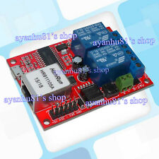 LAN Ethernet 2-way Relay Board Delay Switch TCP/UDP Controller Module WEB server