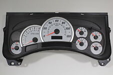 NEW PRODUCTION OEM GM H2 HUMMER WHITE GAUGE SPEEDOMETER CLUSTER UPGRADE EXCHANGE