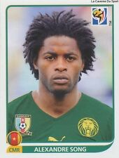 N°399 ALEXANDRE SONG # CAMEROON STICKER PANINI WORLD CUP SOUTH AFRICA 2010
