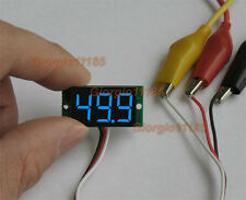 Ultra small Blue LED Volt Meter DC100V (  0V~99.9V )