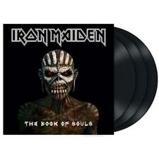 IRON MAIDEN THE BOOK OF SOULS TRIPLO VINILE LP 180 GRAMMI NUOVO SIGILLATO !!