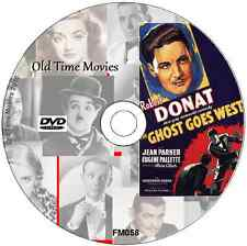 The Ghost Goes West - Robert Donat, Film Comedy DVD 1935