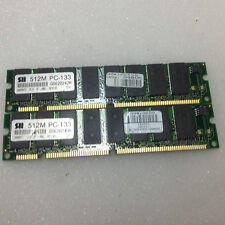 1GB RAM Kit 2x512MB SDRAM PC133 Speicher 133 Mhz 168-pin 3.3V DIMM