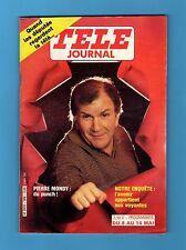 ►TELE JOURNAL 389 - 1982 - PIERRE MONDY - PHILIPPE CHATEL - MARIE PAULE BELLE