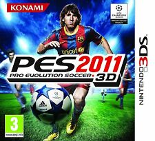 Pro Evolution Soccer 3D PES 2011 (3DS) (New & Sealed) FREE P&P Worldwide