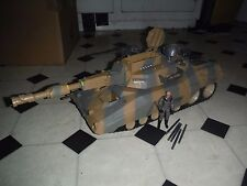 GI Joe Patriot Grizzly Tank incomplete