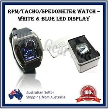 RPM LED Watch WITH GIFT BOX- Street Racing Digital Rev / Speedo Fx Speedometer