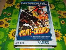 Monte Cassino - Guy Madison - Stan Cooper - MONDIAL VHS Rarität