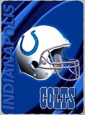 Indianapolis Colts blanket bedding throw 60x90 XXL FREE SHIPPING we ship intl