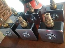 6 X Vintage Industrial Hospital Crabtree Light Switches  Restored Perfect