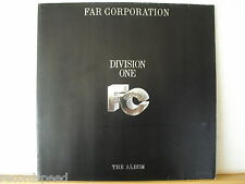 ★★ LP - FAR CORPORATION - Division One (Stairway To Heaven) - OIS - IMP 1985