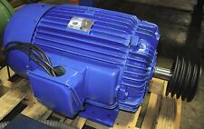 30 HP AC Motor - Made by Teco 3 Phase Induction Motor, 230/460 Volt Type AEEA XX
