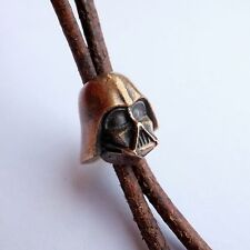 "skull bead ""Darth Vader"", star wars. made of bronze.  for knives. paracord."