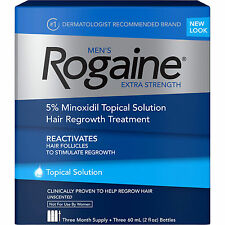 McNeil Rogaine Hair Regrowth Treatment Topical Solution 2018 Expiration Date