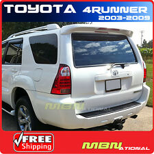 03-09 Toyota 4Runner 4DR Utility Rear Trunk Roof Spoiler Painted ABS