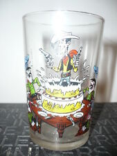 Verre à moutarde Lucky Luke N°4/1972 - vintage glass by Morris