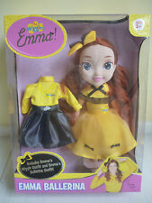 THE WIGGLES- Yellow Wiggle 30cm EMMA BALLERINA DOLL with outfit BRAND NEW IN BOX