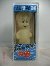 CASPER  GLOW IN THE DARK Wacky Wobbler RARE FUNKO~  Funko Fun Days 2003   ~ MIB