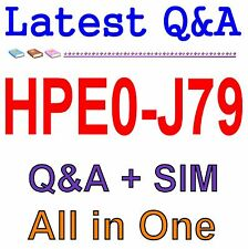 HP Best Practice Material For HPE0-J79 Exam Q&A PDF+SIM