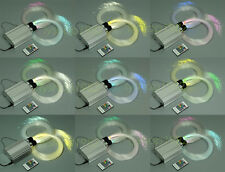 Colorful twinkle star fiber optic lights for wedding home ceiling decoration